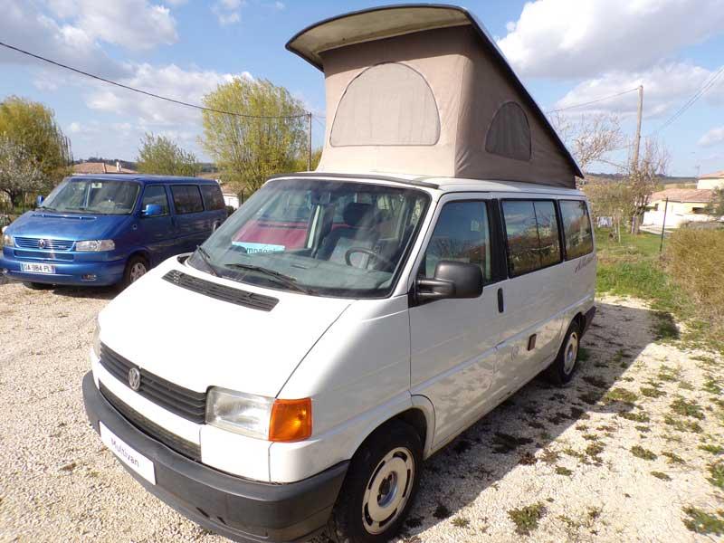 T4 Multivan Westfalia 2,4L Diesel 5 places